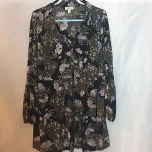NWOT Style&Co sheer blouse